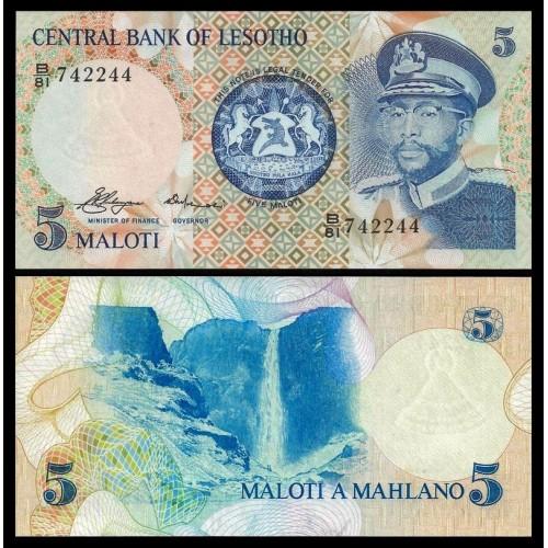LESOTHO 5 Maloti 1981