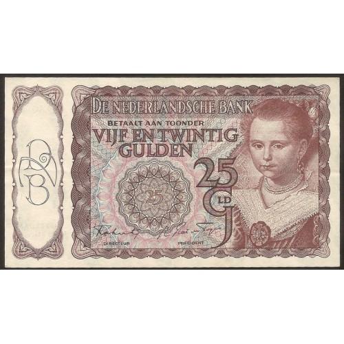 NETHERLANDS 25 Gulden...