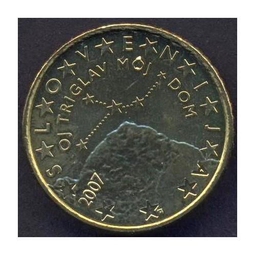 SLOVENIA 50 Euro Cent 2007