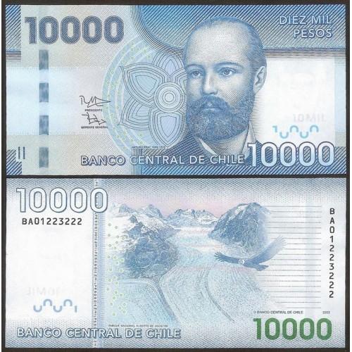 CHILE 10.000 Pesos 2013