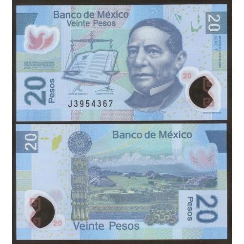 MEXICO 20 Pesos 2012 Serie...