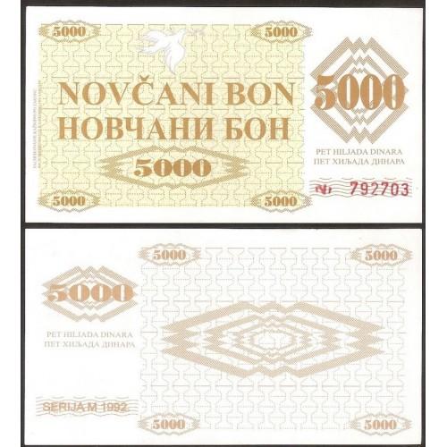 BOSNIA HERZEGOVINA 5000...