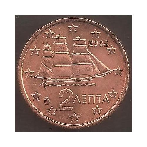 GREECE 2 Euro Cent 2002