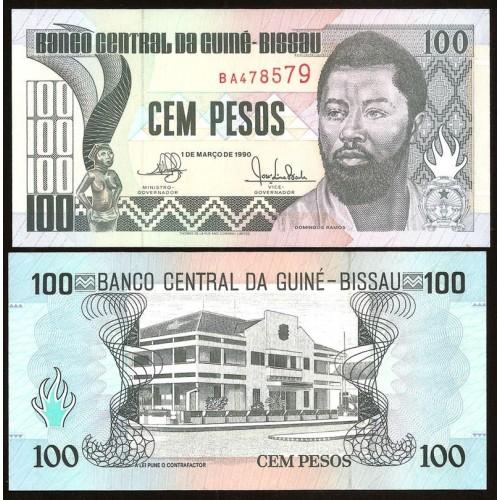 GUINEA BISSAU 100 Pesos 1990