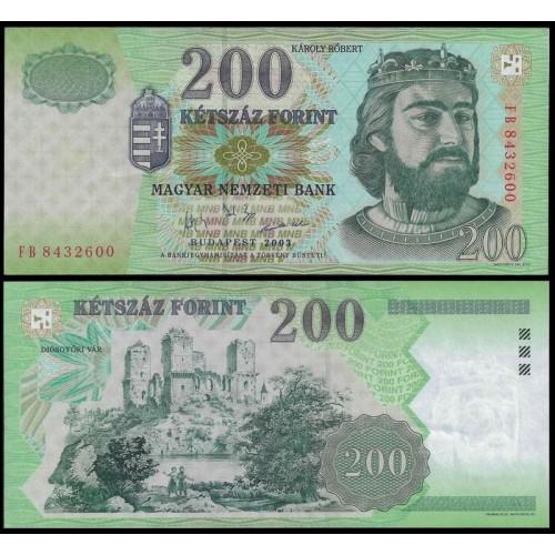 HUNGARY 200 Forint 2003