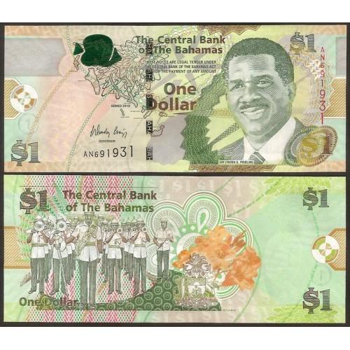 BAHAMAS 1 Dollar 2015