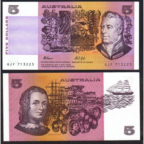 AUSTRALIA 5 Dollars 1991