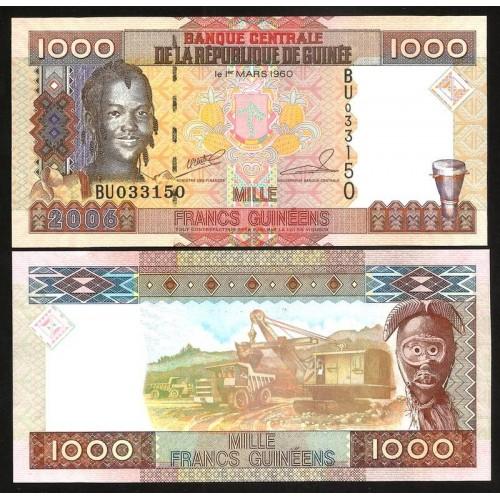 GUINEA 1000 Francs 2006