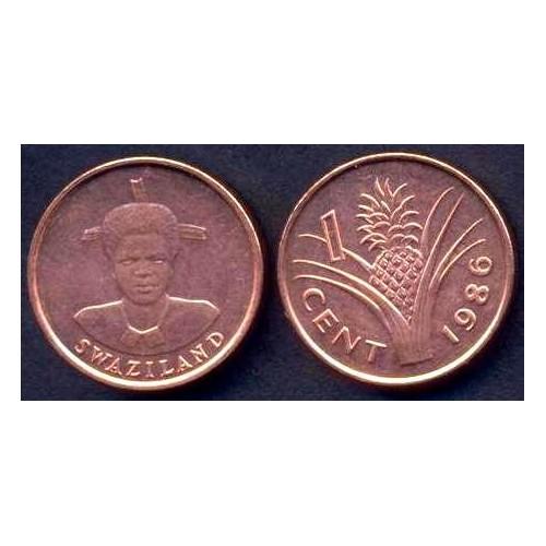 SWAZILAND 1 Cent 1986