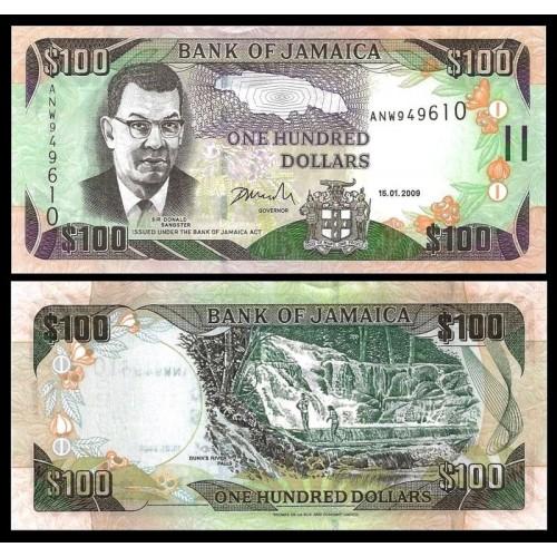 JAMAICA 100 Dollars 2009