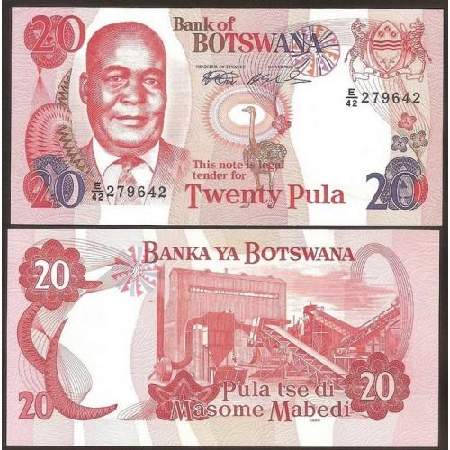 BOTSWANA 20 Pula 1999