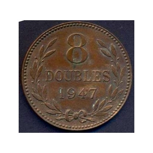 GUERNSEY 8 Doubles 1947