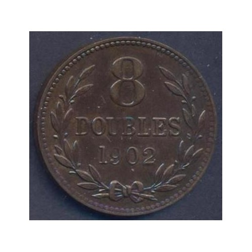 GUERNSEY 8 Doubles 1902