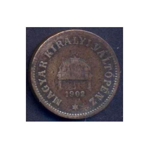 HUNGARY 2 Filler 1902