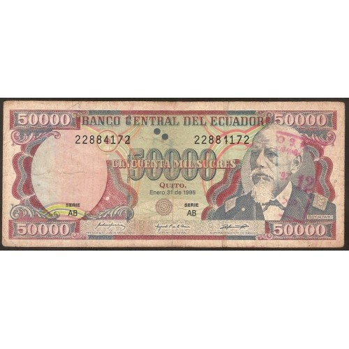 ECUADOR 50.000 Sucres...