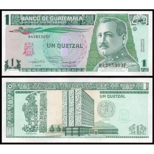 GUATEMALA 1 Quetzal 1992