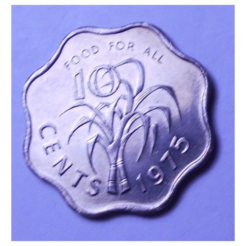 SWAZILAND 10 Cents 1975 FAO
