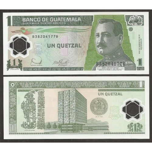 GUATEMALA 1 Quetzal 2006...