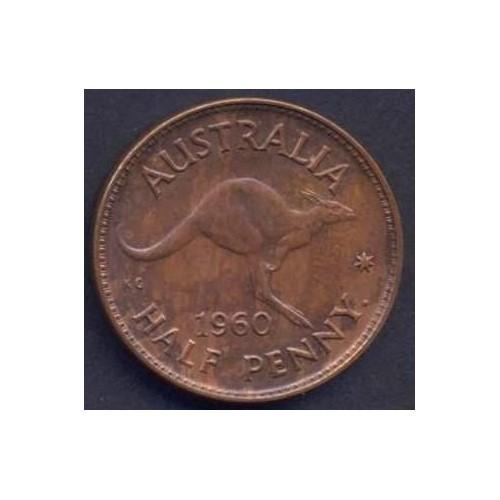AUSTRALIA 1/2 Penny 1960