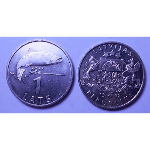 LATVIA 1 Lats 1992
