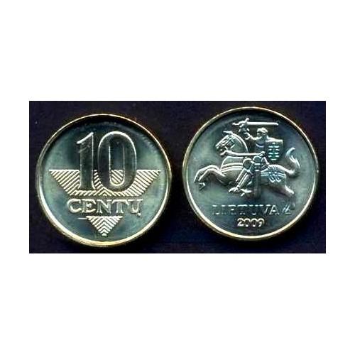 LITHUANIA 10 Centu 2009