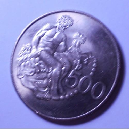 CYPRUS 500 Mils 1975 Hercules