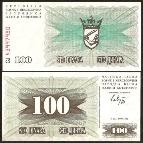 BOSNIA HERZEGOVINA 100...