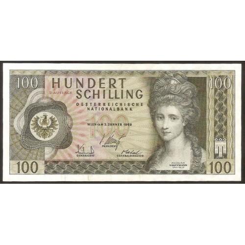 AUSTRIA 100 Schilling 1969