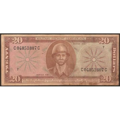 USA 20 Dollars 1969