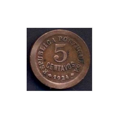 PORTUGAL 5 Centavos 1924