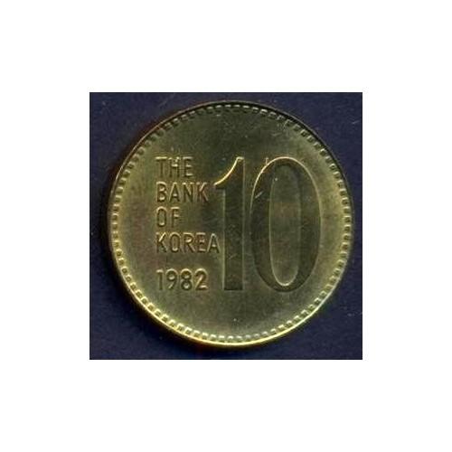 SOUTH KOREA 10 Won 1982