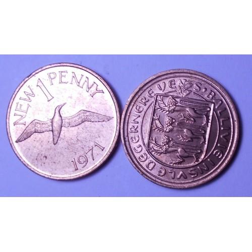 GUERNSEY 1 Penny 1971