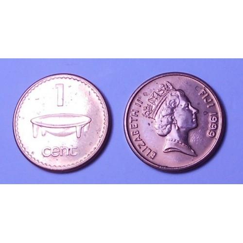 FIJI 1 Cent 1999
