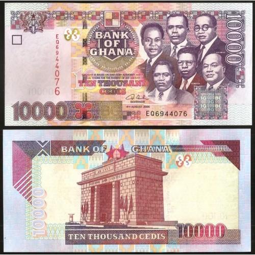 GHANA 10.000 Cedis 2006
