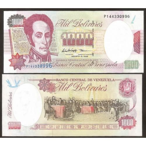 VENEZUELA 1000 Bolivares 1998