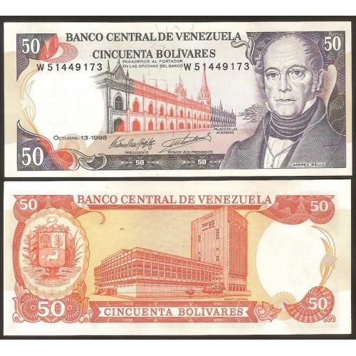 VENEZUELA 50 Bolivares 1998
