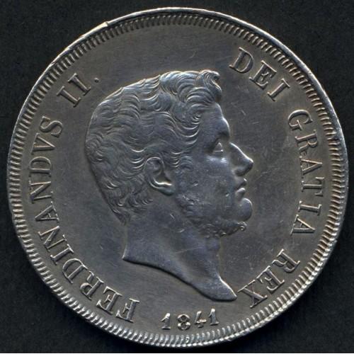 FERDINANDO II PIASTRA 1841 AG
