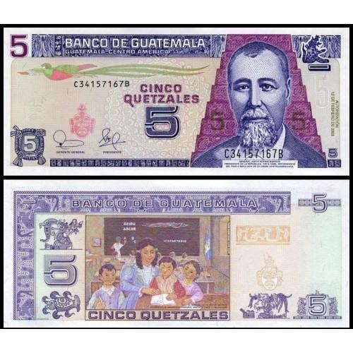 GUATEMALA 5 Quetzales 2003