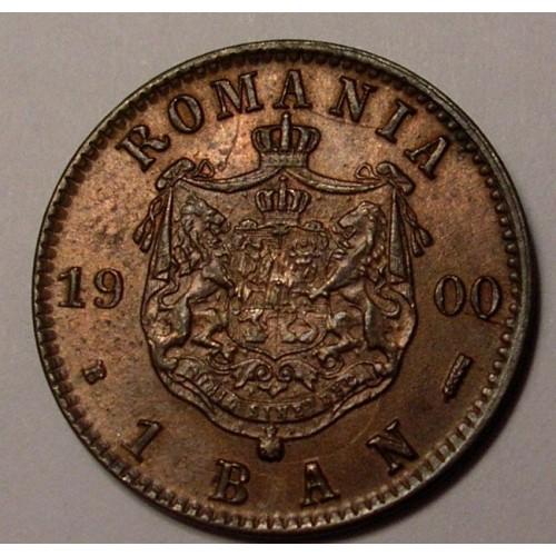 ROMANIA 1 Ban 1900