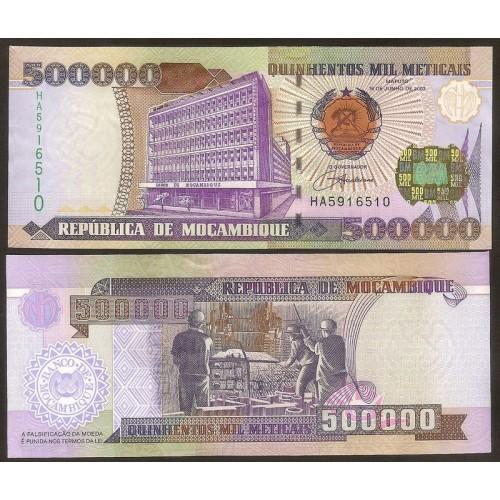 MOZAMBIQUE 500.000 Meticais...