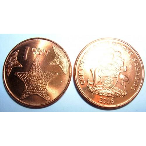 BAHAMAS 1 Cent 2006