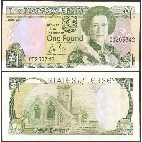 JERSEY 1 Pound 1989
