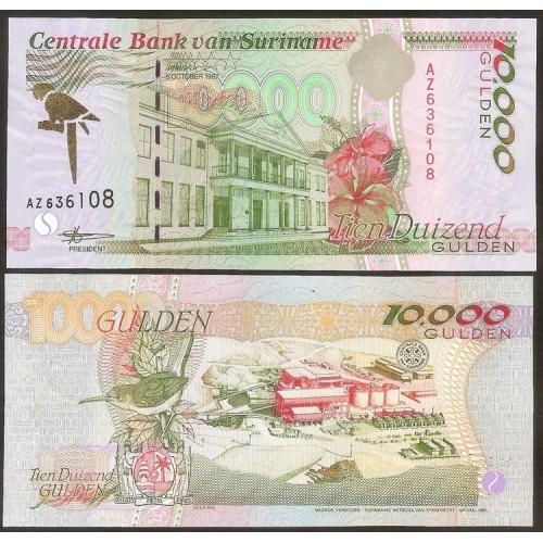 SURINAME 10.000 Gulden 1997