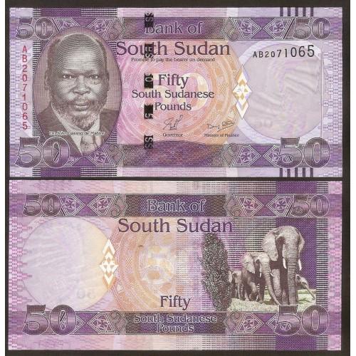 SOUTH SUDAN 50 Pounds 2011