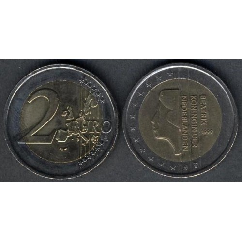 NETHERLANDS 2 Euro 1999