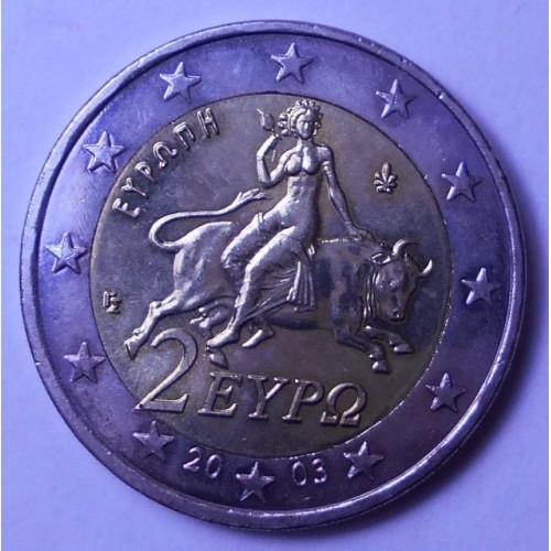GREECE 2 Euro 2003