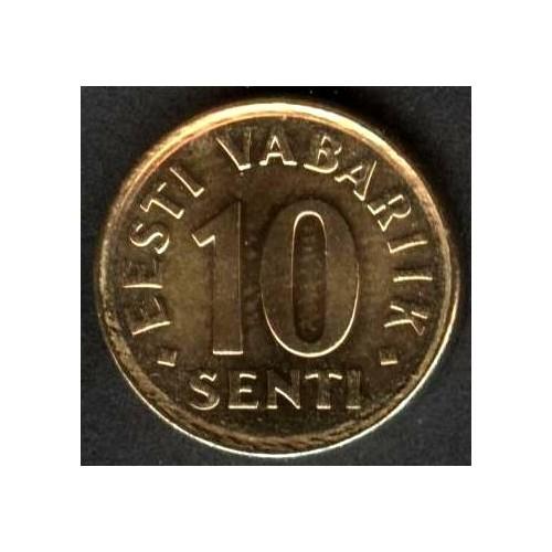 ESTONIA 10 SENTI 2008