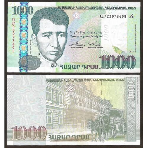 ARMENIA 1000 Dram 2015