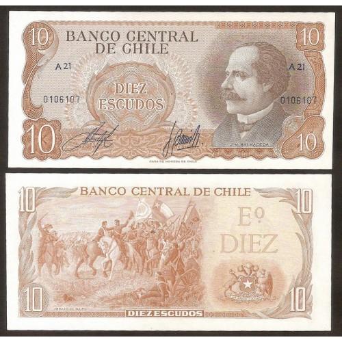 CHILE 10 Escudos 1967