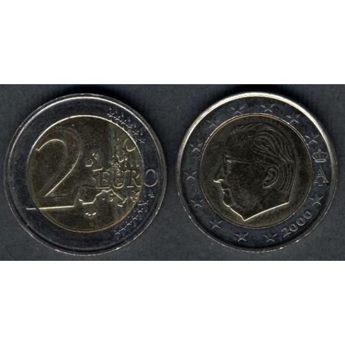 BELGIUM 2 Euro 2000 Albert II